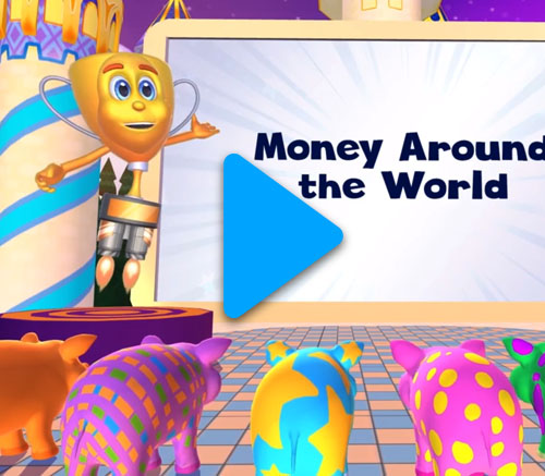 Skoolbo Introduction to Money - financial literacy lessons for kids